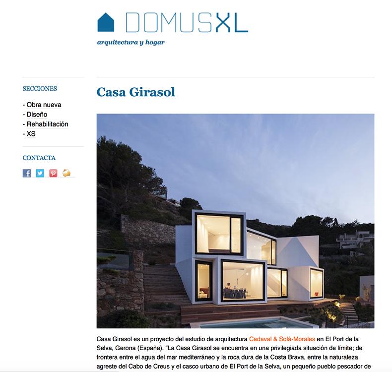 Domus XL _ Casa Girasol 03-2016 copia