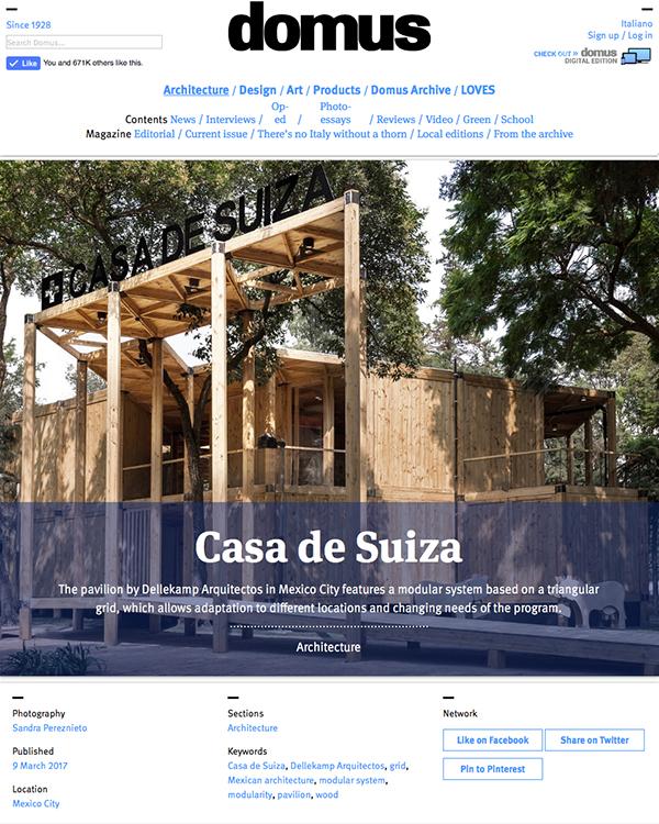 Domus_Casa_Suiza_portada