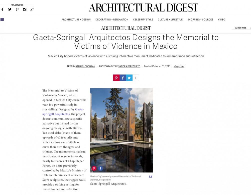 Memorial_Architectural_Digest_10_2013