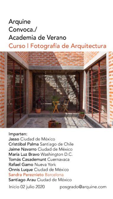 Foto Arquitectura _ Arquine 2020